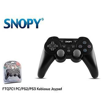 Snopy FTQ7C1 PC-PS2-PS3 Kablosuz Joypad