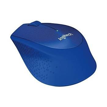 Logitech 910-004910 M330 Silent Plus Kablosuz Blue Mavi Mouse