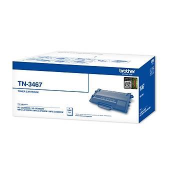 Brother TN-3467 12.000 Sayfa Black Siyah Toner HL-5000-5200-6200-6400 MFC-5700-5755