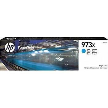 HP 973X Cyan Mavi Yüksek Kapasite Pagewide Kartuþ F6T81AE