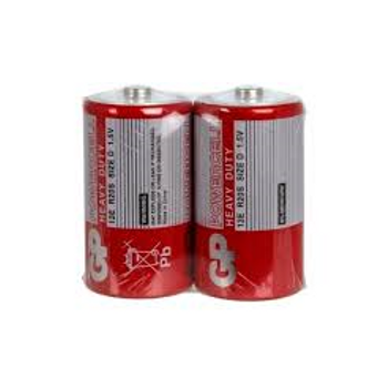 PowerCell R20 Kalýn D Boy Çinko Pil 20'li Paket GP13ERMTP