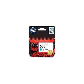 HP 655 Cyan Mavi Kartuþ CZ110AE