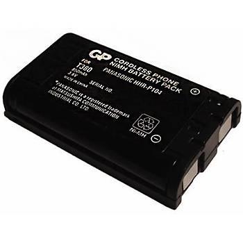 GP T380 3.6V 850 mAh 3'lü Telsiz Telefon Pil