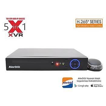Averdigi Ad-5016E 16Kanal 5Mp Destekli 5M-N XVR H.265 1x6TB Hdmý&Vga&Bnc(Adaptörsüz)
