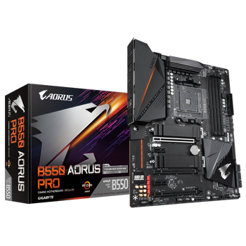 Gigabyte B550 Aorus Pro AMD B550 DDR4 M2 Hdmi mATX Anakart