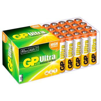 Süper Alkalin LR03 AAA Boy Ýnce Kalem Pil 40lý Paket GP24A-2VS40