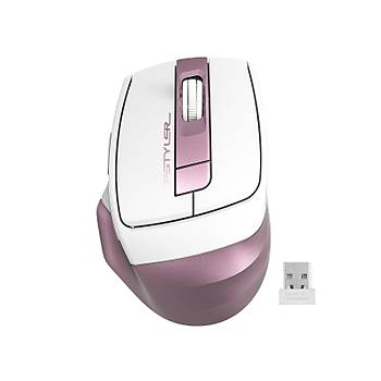 A4 Tech Fg35 Pembe Nano Kablosuz Optik 2000 Dpi Mouse