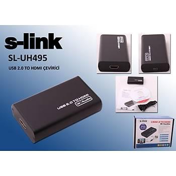 S-link SL-UH495 Usb 2.0 To Hdmý Dönüþtürücü