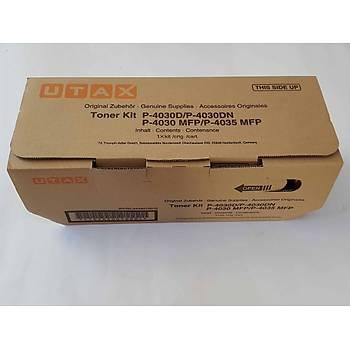 Utax P-4030D-4030DN-4035MFP Orjinal Fotokopi Toneri