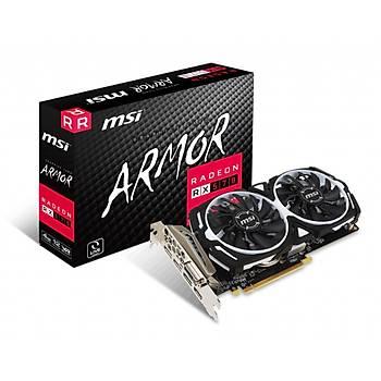 Msi Vga Radeon Rx 570 Armor 4G Rx570 4Gb Gddr5 256B Dx12 Pcýe 3.0 X16 (1Xdvý 1Xhdmý 3Xdp) Vga