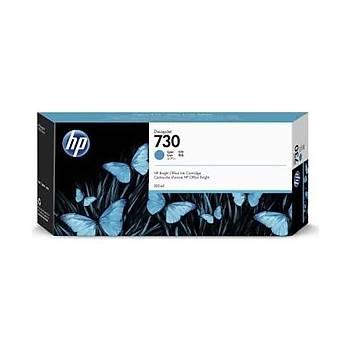 HP 730 Cyan Mavi 300 Ml Plotter Kartuþu P2V68A