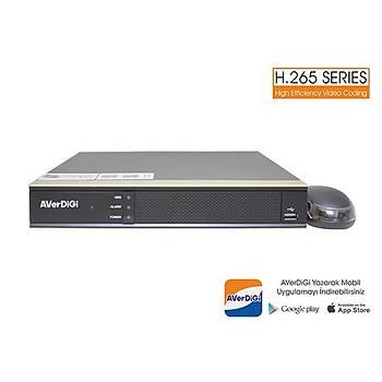 Spy AD-7016NVR 16 Kanal 5MP H265 Nvr 1X10Tb Hdd 4K Hdmý&Vga(Adaptörsüz)