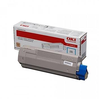 Oki MC770-780 11.500 Sayfa Cyan Mavi Toner 45396203