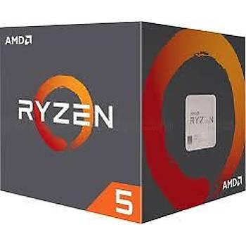 Amd Ryzen 5 2400G 3.6Ghz 4Mb Am4 (65W) Vega11 Amd Ýþlemci Kutulu