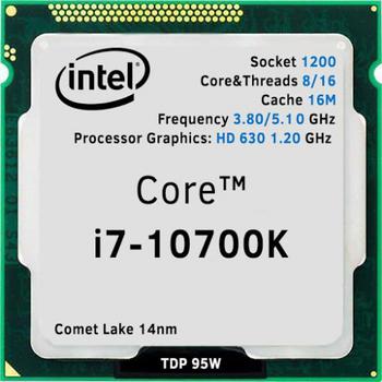 Intel Core i7 10700K Soket 1200 3.8GHz 16MB Önbellek 8 Çekirdek 14nm TRAY Kutusuz Ýþlemci