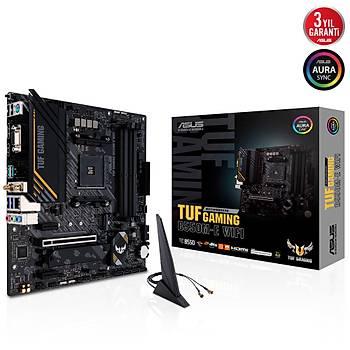 Asus Tuf Gaming B550M-E Wifi AMD AM4 128GB DDR4 4866Mhz M2 Dp-Vga-Hdmi mATX Anakart