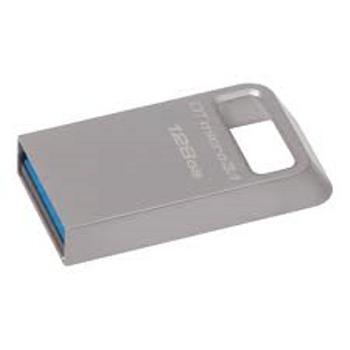 Kingston DTMC3-128 128GB DTMicro USB3.1 Metal Kasa Flash Bellek