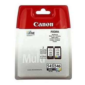 Canon PG-545 CL-546 Multipack 2'li Mürekkep Kartuþ