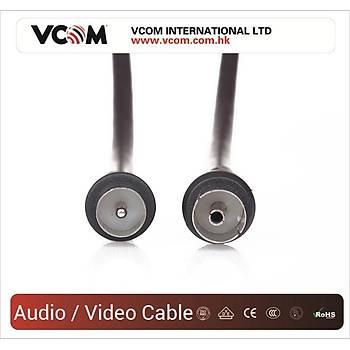 Vcom CV602-B 5mt Analog Siyah Tv Uzatma