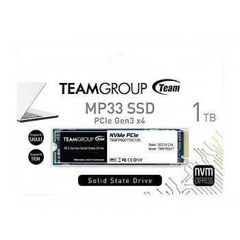 Team 1TB MP33 1800-1500MB-s NVMe PCIe M.2 SSD Disk