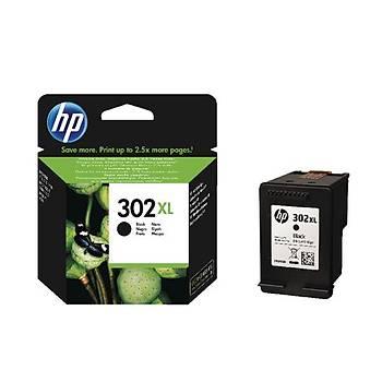 HP 302XL Black Siyah Kartuþ F6U68AE