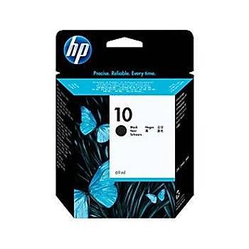 HP 10 Black Siyah 69ML Kartuþ C4844A