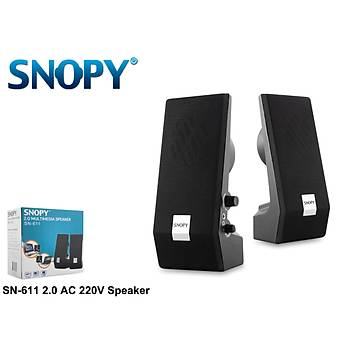 Snopy SN-611 2.0 3w-2 Speaker