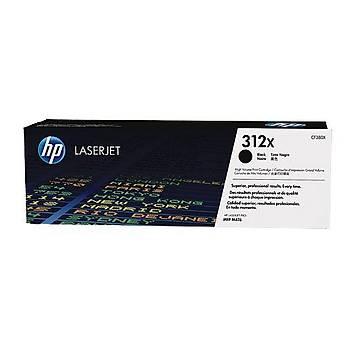 HP 312X Black Siyah Yüksek Kapasite 4.400 Sayfa Toner CF380X