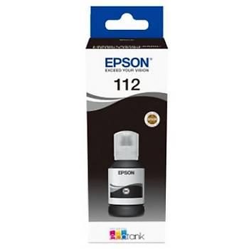 Epson T06C1 (112) Black Siyah Þiþe Mürekkep C13T06C14A