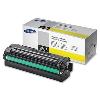 Samsung Y506L Yellow Sarý 3.500 Sayfa Toner SU517A