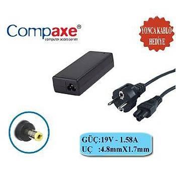 Compaxe CNH-158 Hp 30w 19v 1.58a 4.8 1.7 Notebook Adaptörü