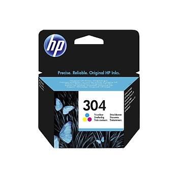 HP 304 Color Renkli Kartuþ N9K05AE