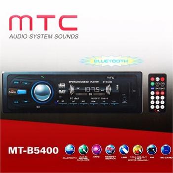 Mtc mt-b5500 Bluetoothlu usb ve kart okuyuculu Oto Teyp radyo