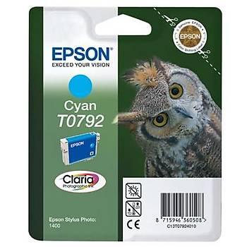 Epson 1400-P50 Cyan Mavi Mürekkep Kartuþ T07924020