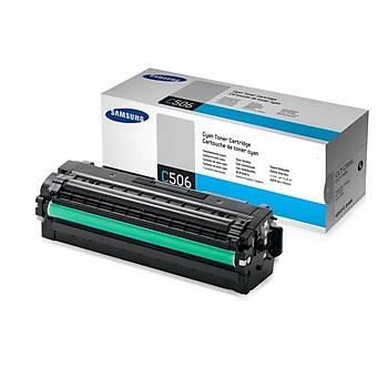 Samsung C506L Cyan Mavi 3.500 Sayfa Toner SU040A