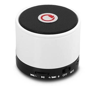 Mikado MD-10BT Beyaz Sd- Fm Destekli Bluetooth Speaker