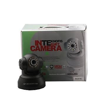 Myýhome Airlink Smurf1 Siyah Ip Wireless Kamera