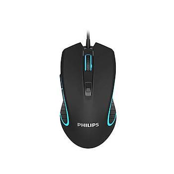 Philips SPK9413 Usb Siyah 1200-2400-3200-6400dpi Gaming 7 Farklý Led Aydýnlatma