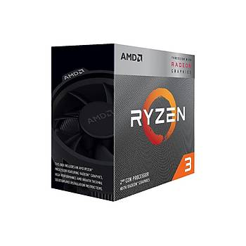 Amd Ryzen 3 3100 3.9GHz AM4 100-100000284BOX Ýþlemci Kutulu Box