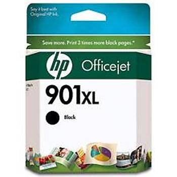 HP 901XL Black Siyah Yüksek Kapasiteli Kartuþ CC654AE