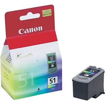 Canon CL-51 Renkli Kartuþ MX300-310 MP140-150-160-210 IP2200-6210-6220