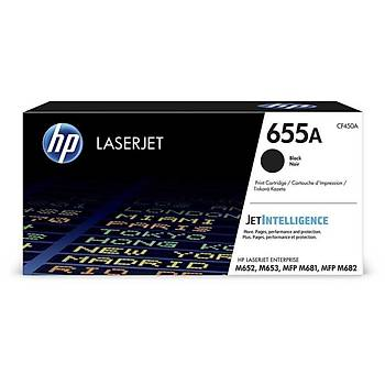 HP 655A Black Siyah 12.500 Sayfa Toner CF450A