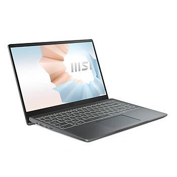 MSI NB MODERN 14 B11SBL-473XTR I5-1135G7 8GB DDR4 MX450 GDDR5 2GB 256GB SSD 14 FHD DOS KOYU GRI