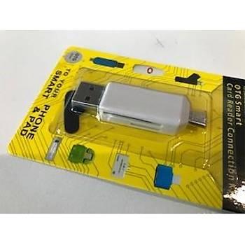 Megatech 2in1 Micro Otg Card Reader