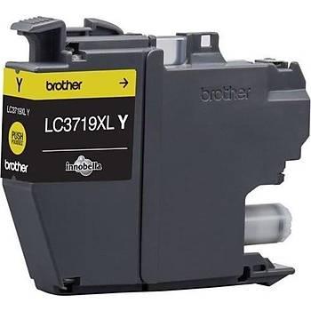 Brother LC3719XLY Yellow Sarý 1.500 Sayfa Kartuþ MFC-J3930DW