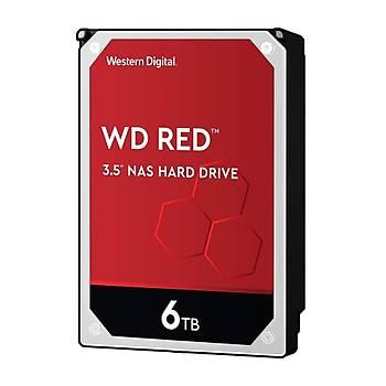 "Wd 6Tb WD60EFAX Red 3,5"" 256Mb Sata Iýý 6Gb-S 7-24 Nas Harddisk"