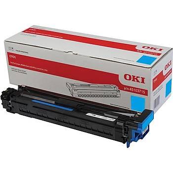 Oki C911-931 40bin Sayfa Cyan Mavi Drum 45103715