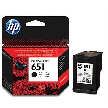 HP 651 Black Siyah Kartuþ C2P10AE