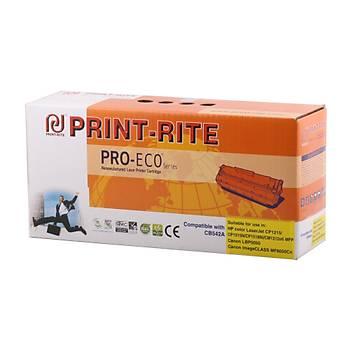 Print-Rite Hp CB542A Sarý Muadil Toner CM1312-CP1215-CP1515-CP1518
