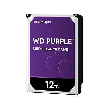 Wd 12Tb Purple Wd121Purz 7200 Rpm 256Mb Cache Sata Harddisk